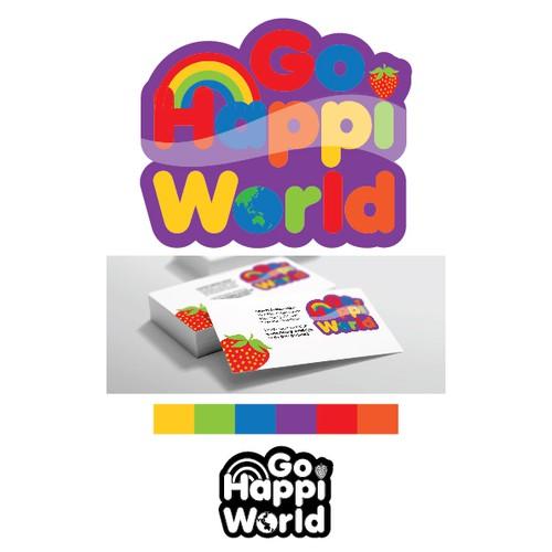 New Start-up, 'Go Happi World', Needs a Logo!  Let's Get Happi Together!