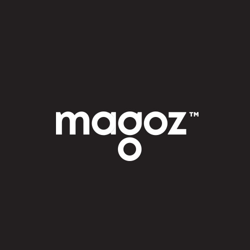 Magoz wordmark logo