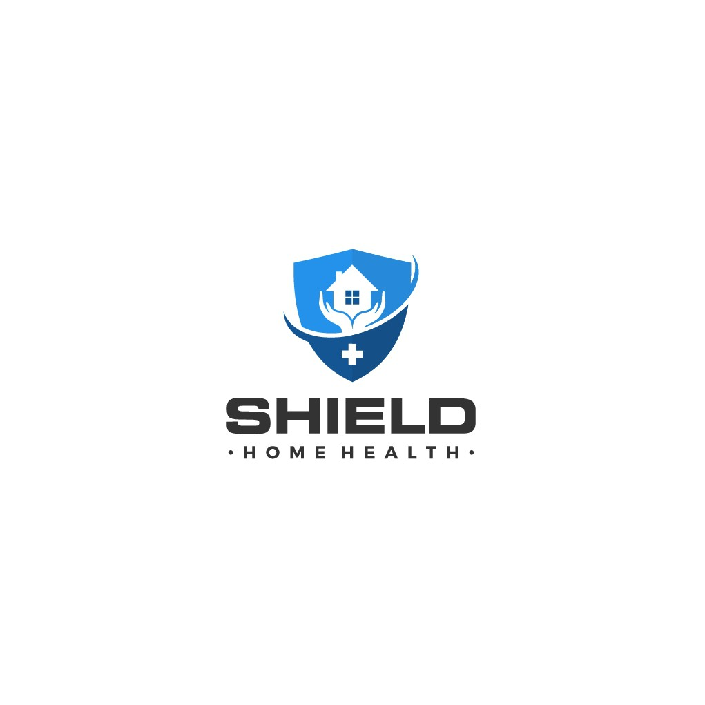 Design a medical field logo that show our name Shield Home Health