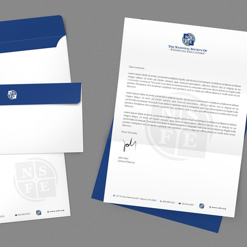 Letterhead and Envelope Design