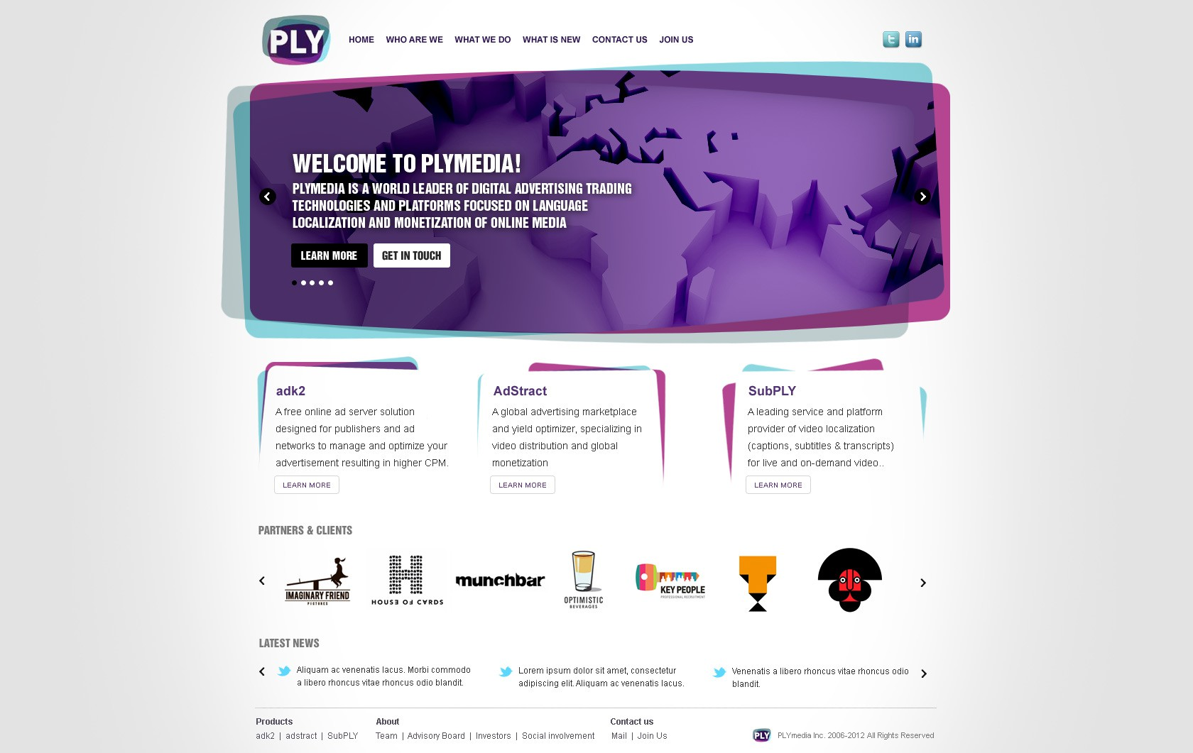 Help PLYmedia with a new website design