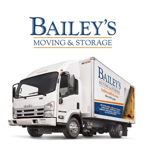Bailey's Moving and Storage Vehicle Wrap