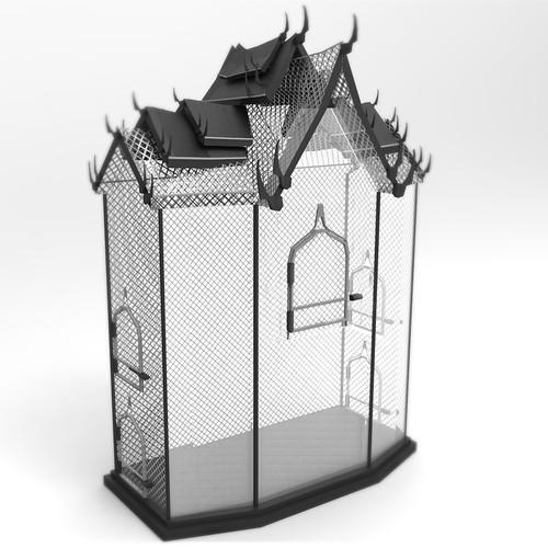 Custom Functional Bird Cage