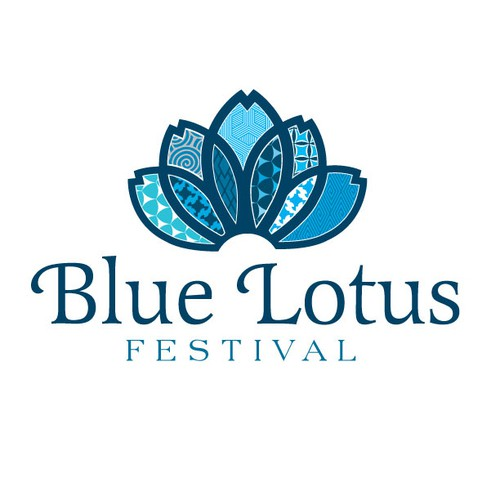 "Create the 1st ever logo for the  ""Blue Lotus Festival"""