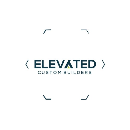 Elevated Builders Logo Design