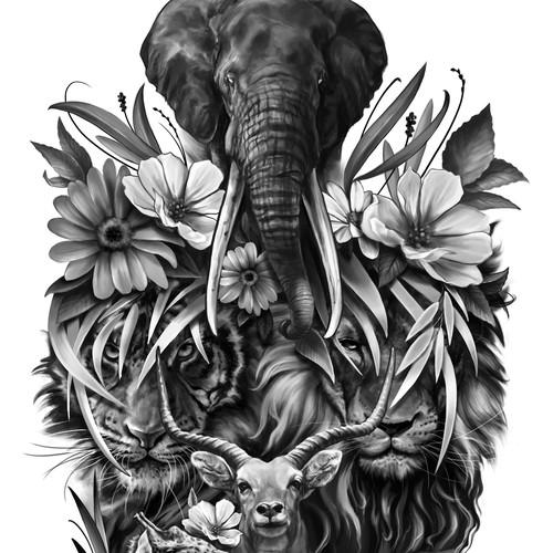 tatuaje animales 2