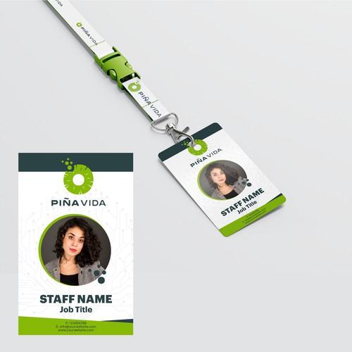Staff id design