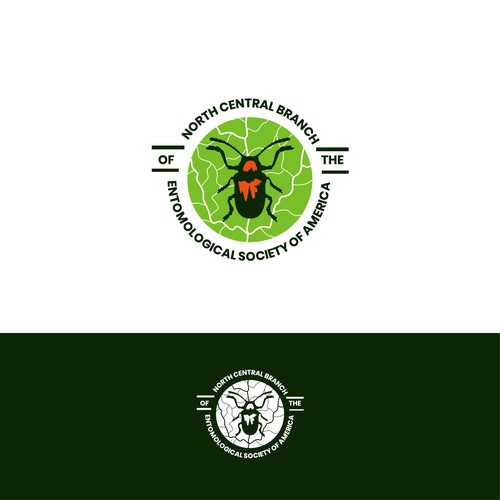 Logo for entomologists organization