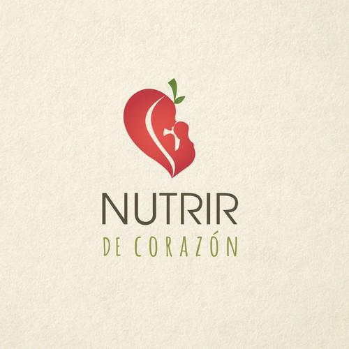 Nutrir de Corazón Logo