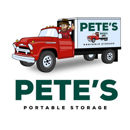 Bold Logo for a Portable Storage Business