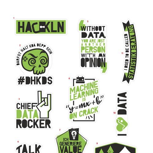 Stickers Set