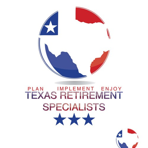 Create the next logo for Texas Retirement Specialists