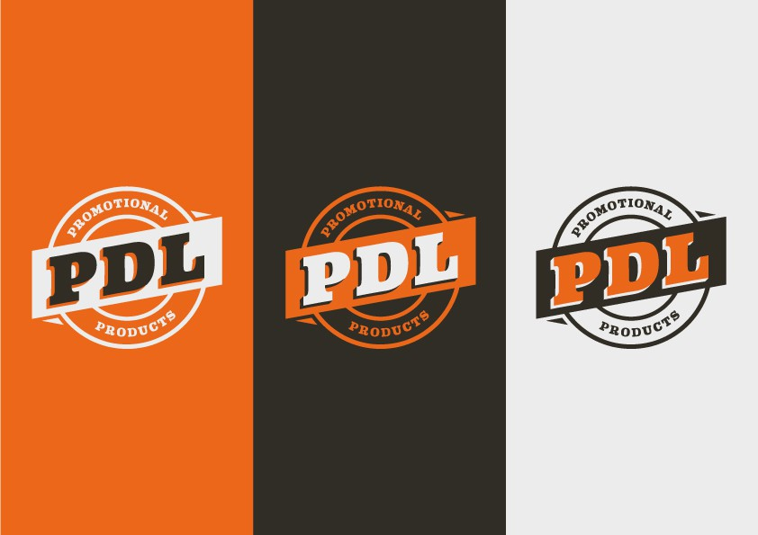 Create a clean, retro logo for a promotional product company