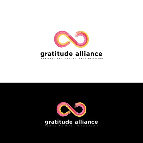 Create a bold, modern logo for a nonprofit that heals trauma around the world