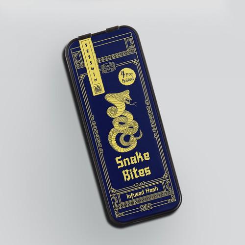 Sesshin Pre-roll CBD packaging