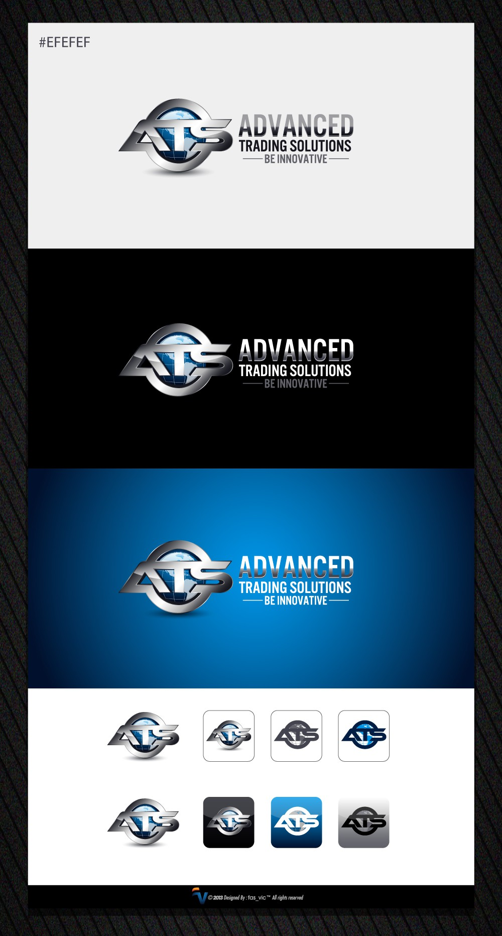 Advanced Trading Solutions needs a new logo