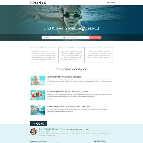 KidSorter.com Landing Page