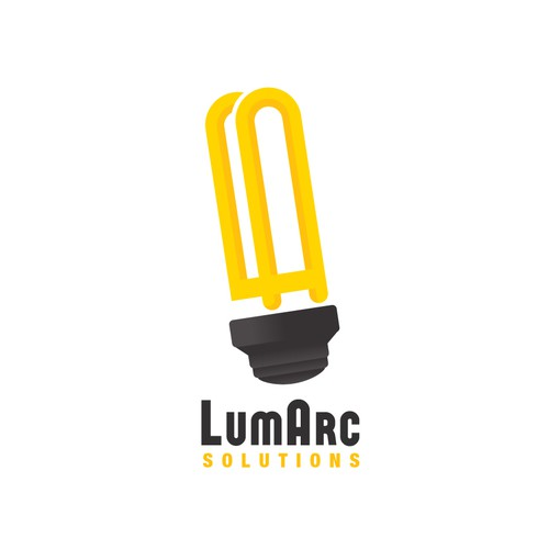 Create the brand identity for LumArc Solutions