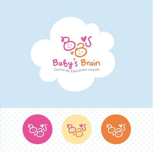 Logo Baby`s Brain - Identidad visual