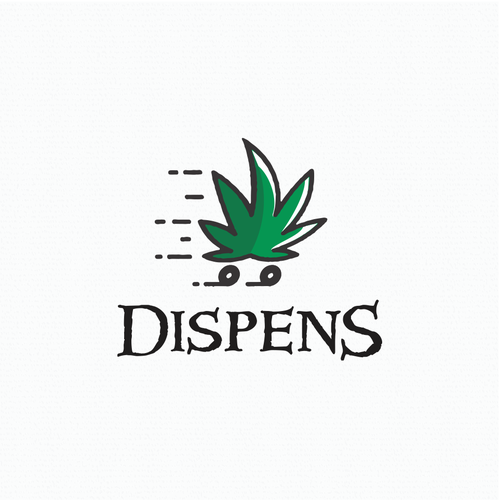 Medical cannabis delivery logo