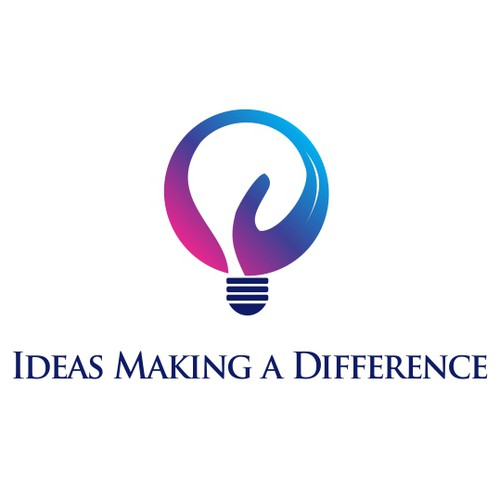 simple logo for  ideas making a diffrence