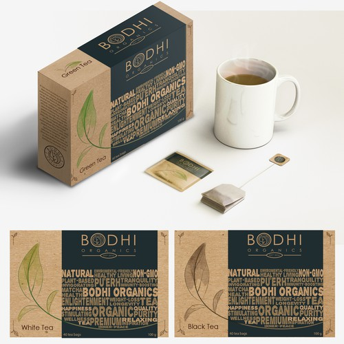 Bodhi Organics Tea box