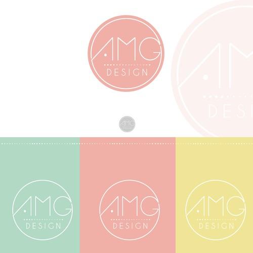 Create a simple/modern/feminine design for Etsy wedding invitation shop