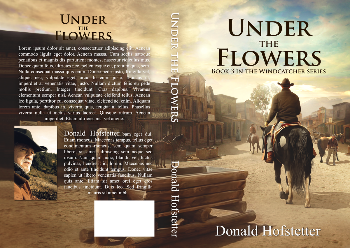 Book cover: Under the Flowers