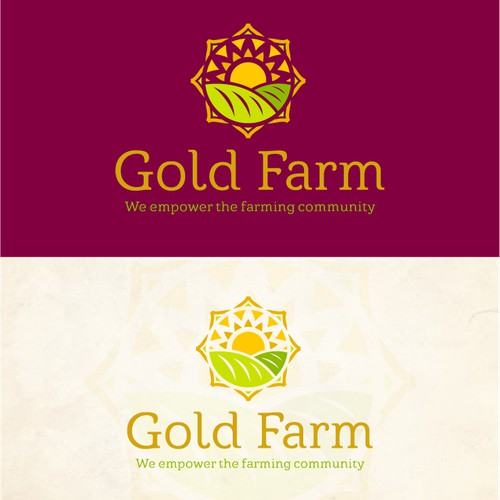 Logo for a farm in India