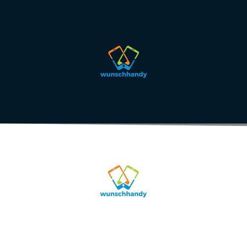 Modern logo for wunschhandy