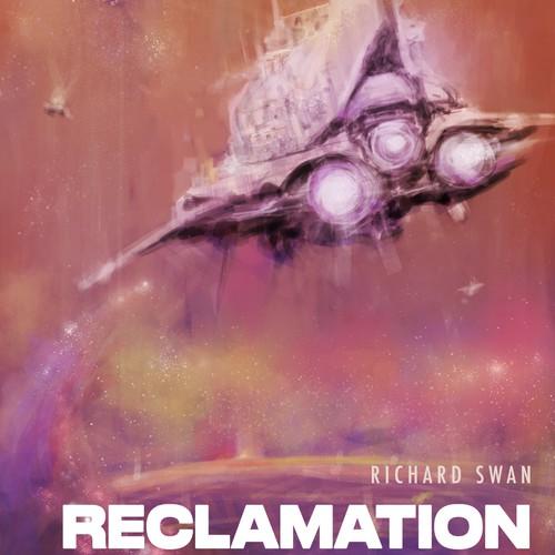 Space Opera Sci Fi novel cover