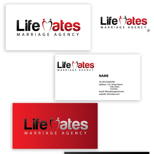 Create the next logo for Life Mates Marriage Agency
