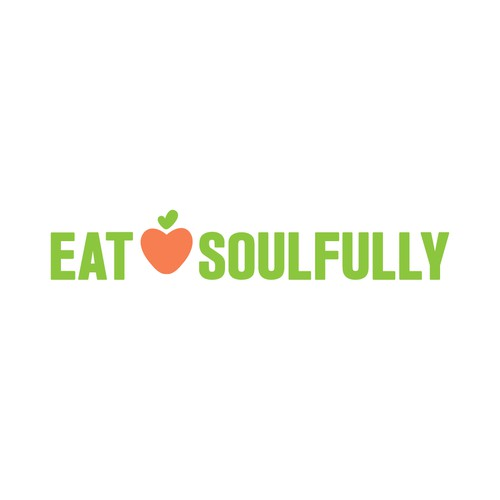 Logo for healthy food restaurant.