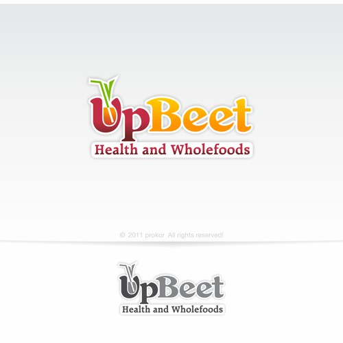 logo for UpBeet Health and Wholefoods
