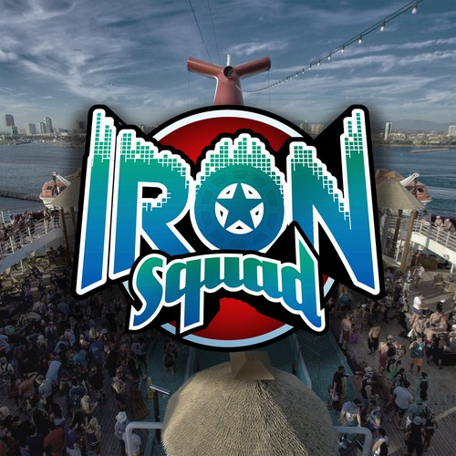 SUPERHERO LOGO for IronSquad - 2nd and final version