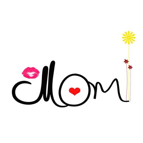 Mom + hearts  mug