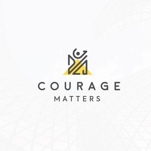 Courage Matters Logo Proposition.