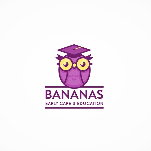 Bananas Early Care & Education logo concept