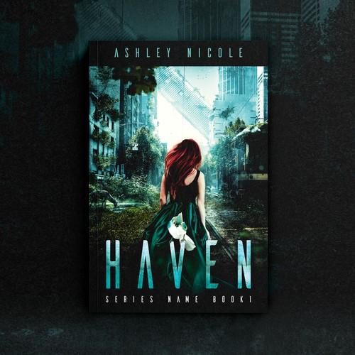 """Book cover """"Haven"""" - Ashley Nicole"""