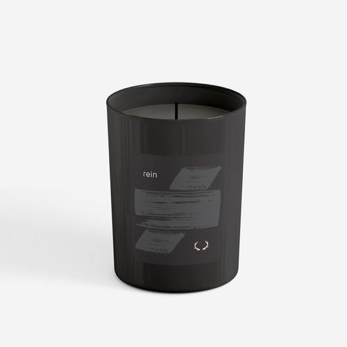 Men's Luxury Candle Label