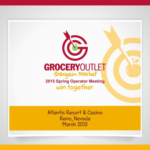 Grocery Chain Spring Sales Meeting Logo