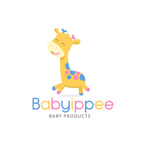 Giraffe logo concept
