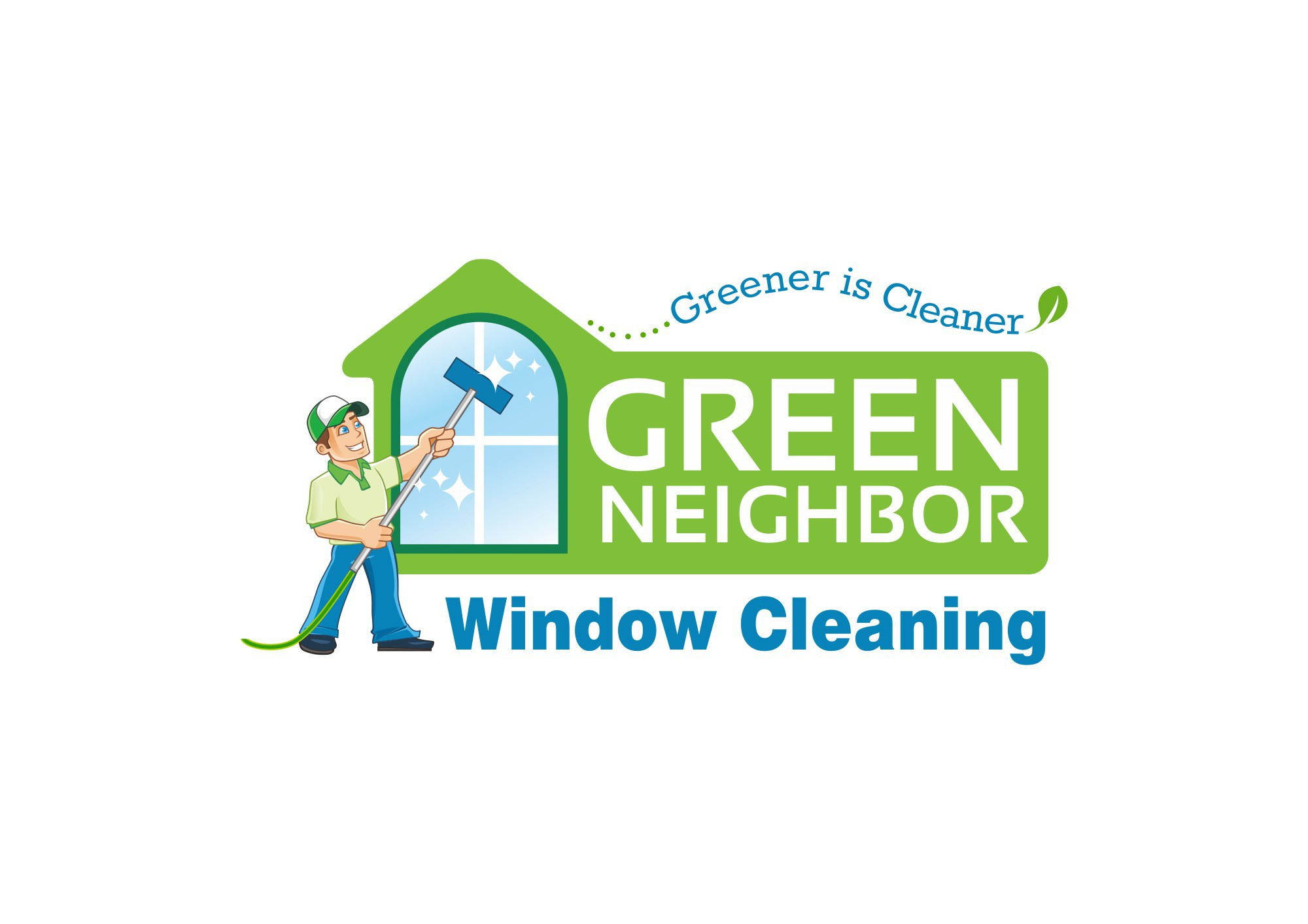 New logo wanted for Green Neighbor Window Cleaning