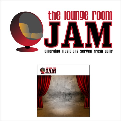 logo for The Lounge Room Jam