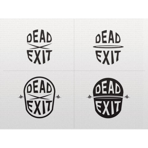 Logo & symbol concept for international bass music group DEADEXIT
