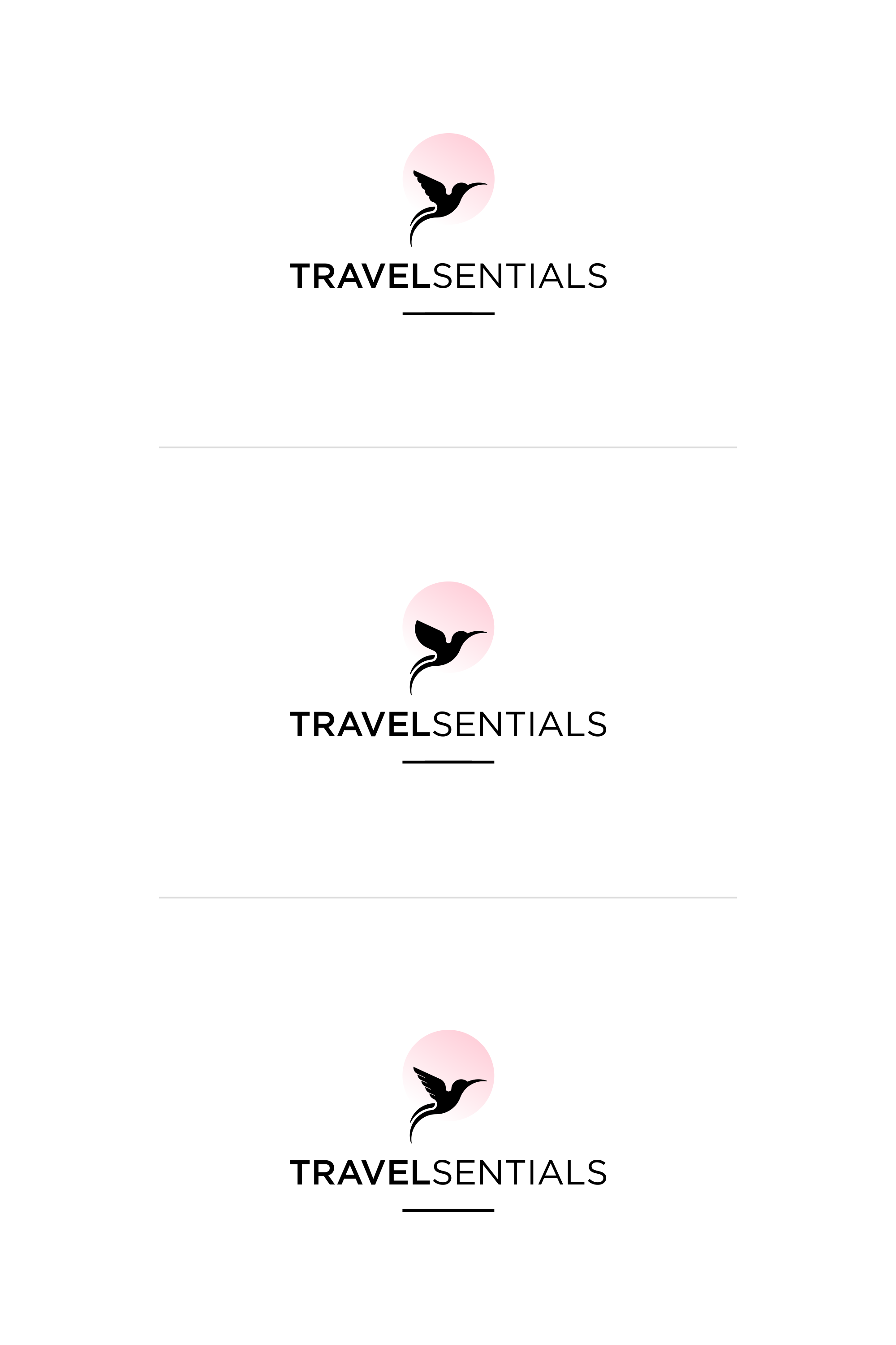 Logo Design - TRAVELSENTIALS