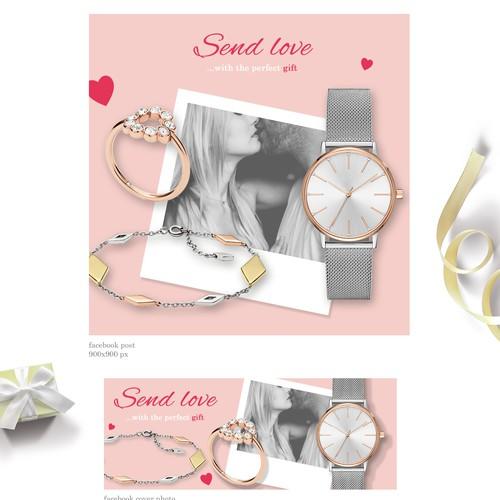 Valentine's Day Facebook Campaign