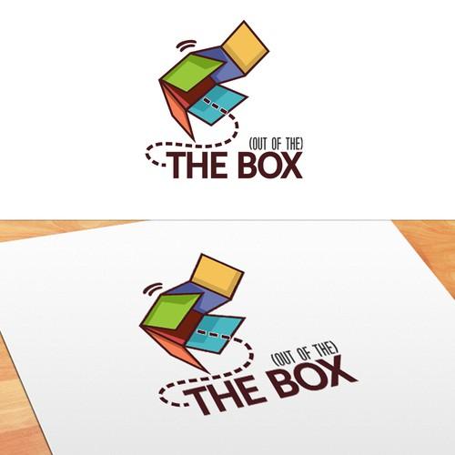 THE BOX logo concept