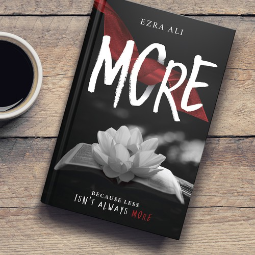 "Book cover design for ""More"""