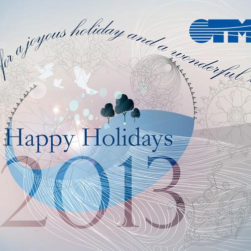 Design a holiday e-card for TMG